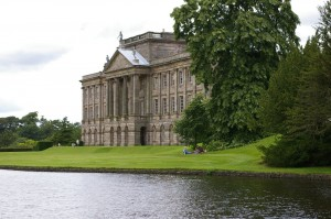 Lyme Park: the estate that served as Pemberley in the BBC's 1995 adaptation of Jane Austen's Pride and Prejudice. Image credit: Mike Calvon via Wikimedia Commons