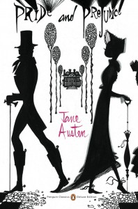 Cover image of Jane Austen's Pride and Prejudice, image credit Penguin Classics