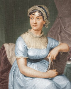 Portrait of Jane Austen by her sister Cassandra Austen. Image credit Wikimedia Commons