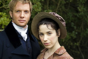 "Anne Eliot and Captain Wentworth in the 2007 ""Persuasion."""