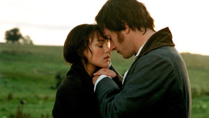 "Elizabeth Bennet and Mr. Darcy in the 2005 ""Pride and Prejudice."""